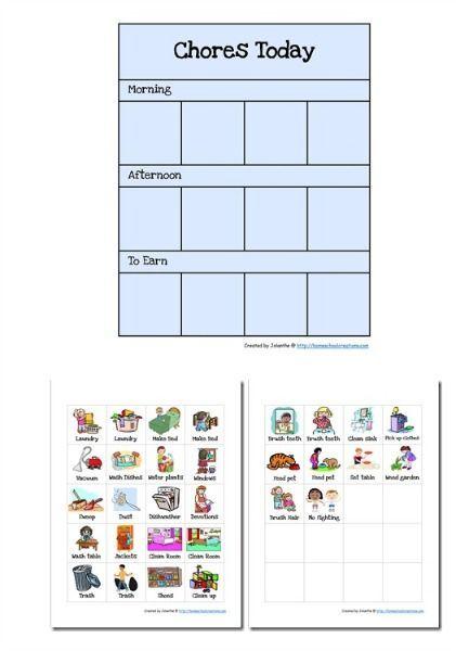 Best 20+ Preschool Chore Charts ideas on Pinterest