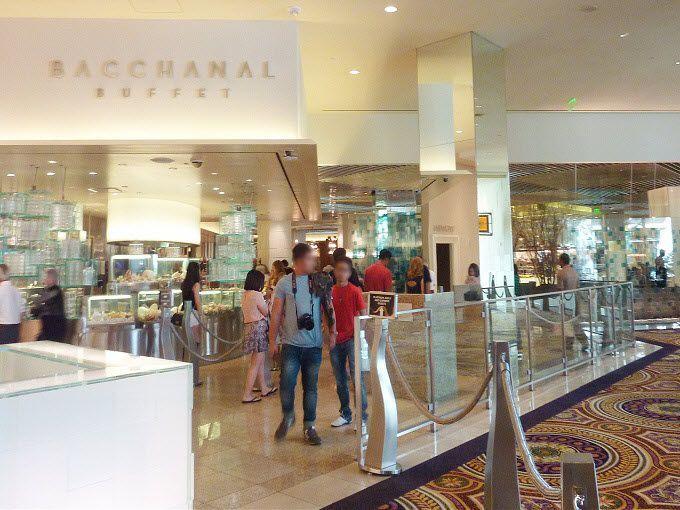 米国ラスベガスのホテル「シーザーズパレス」にて。Caesars Palace in Las Vegas, USA.