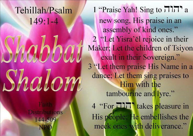 Shabbath Shalom mishpacha! All esteem to Abba YAHWEH! emet