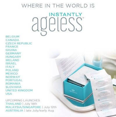 Instantly Ageless is all around the world! Dont miss out!