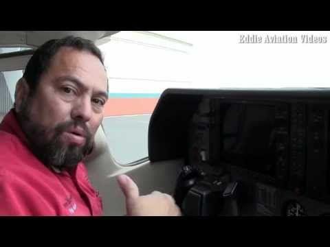 Como se enciende el motor de un avion equipado con el Garmin 1000 mov - YouTube