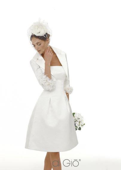 Abito da sposa corto 2013 collezione Le Spose di Gio