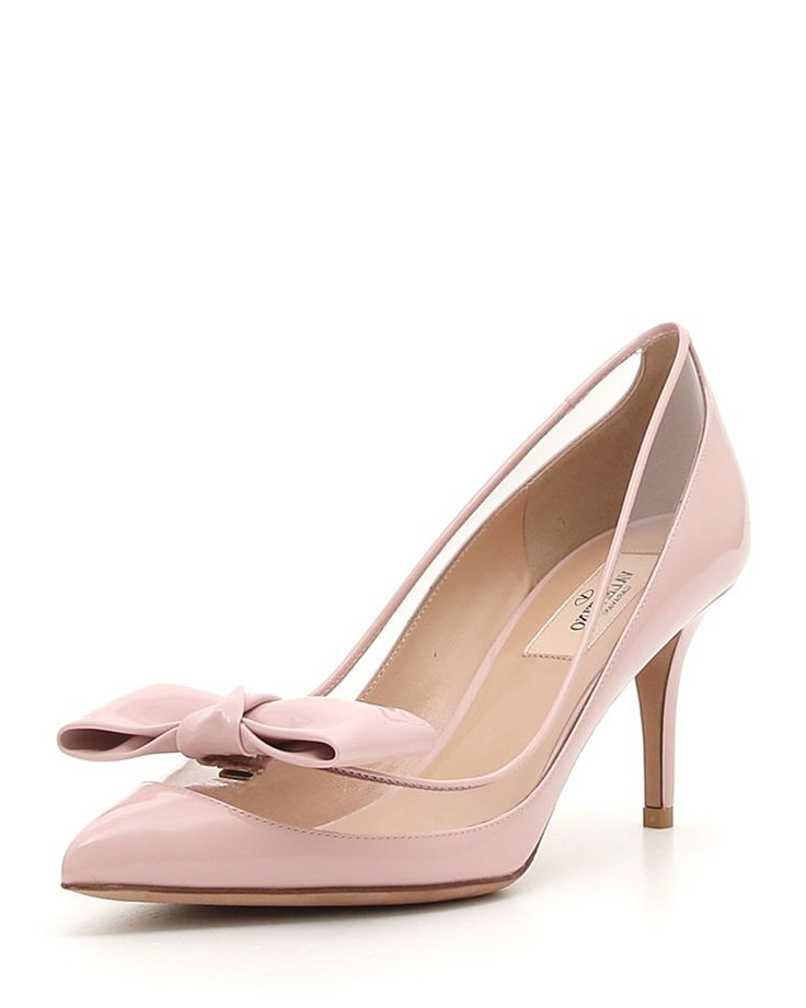 DOLLYBOW PATENT - Valentino Bridal Shoes: Vows in Rockstud Style https://www.loveandlavender.com/2018/01/valentino-bridal-shoes/