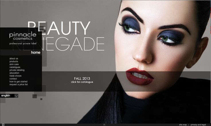 Pinnacle Cosmetics is familiar with art and design; using the faces of women as the canvas. So, when ITW was commissioned to create a website for the Canadian-based cosmetics company, we knew how attractive and informative it had to be. Read more about the project: http://www.itwconsulting.com/projects/GreatestHits/Pinnacle.html