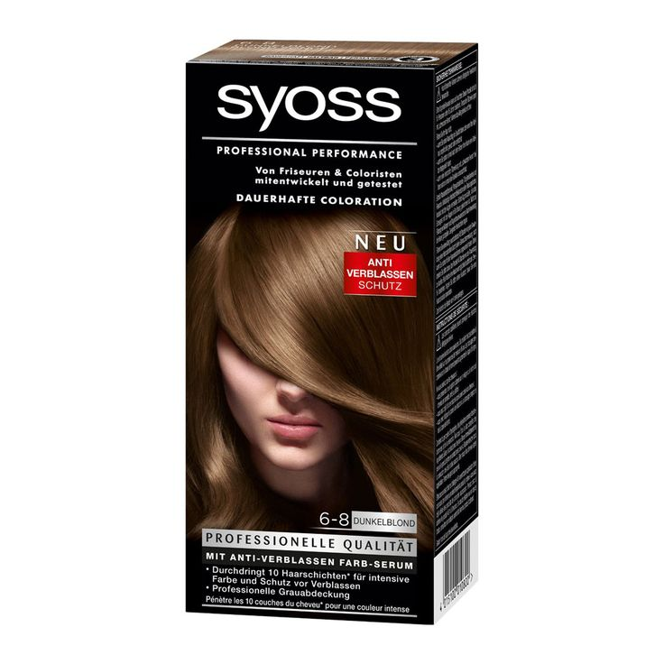 Syoss Color Classic 6-8 Darkblond offers an intensive, long lasting color result and professional gray cover in salon quality. Ultra-concentrated micro-color particles penetrate 10 layers of hair for maximum color intensity and anti-fading protection. The high performance formula seals the professional color-intense pigment mix deep in the hair shaft to ensure maximum color performance and …