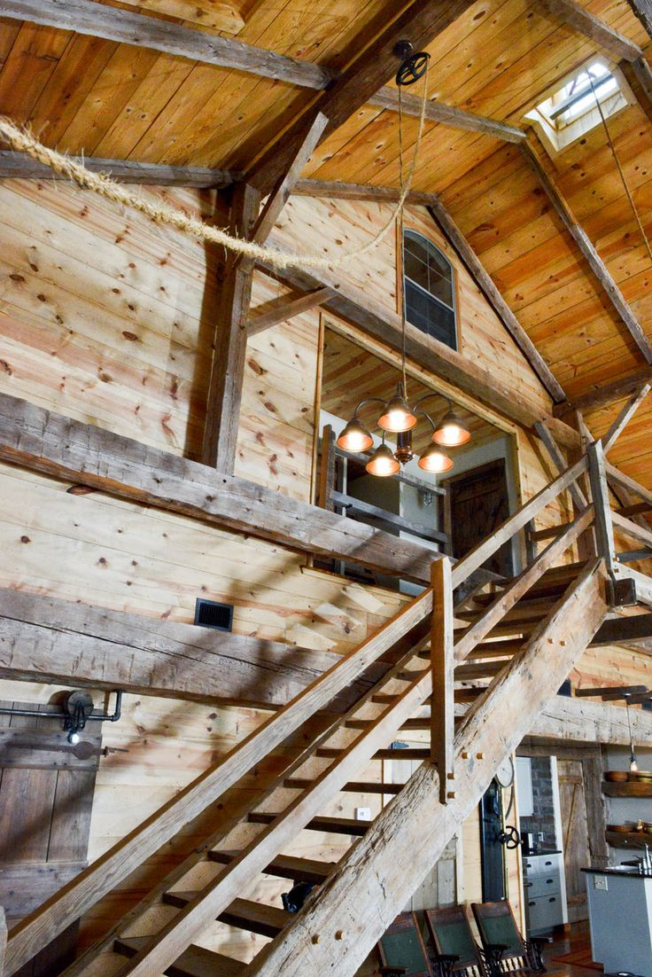 Stairs- log cabin or stables!!