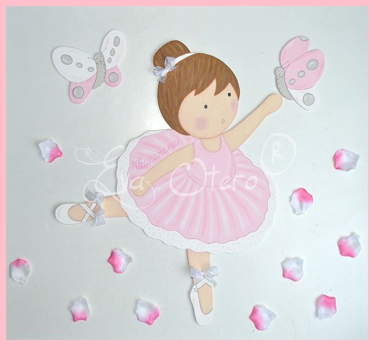 Siluetas infantiles eva otero siluetas infantiles de - Cuadros bailarinas infantiles ...