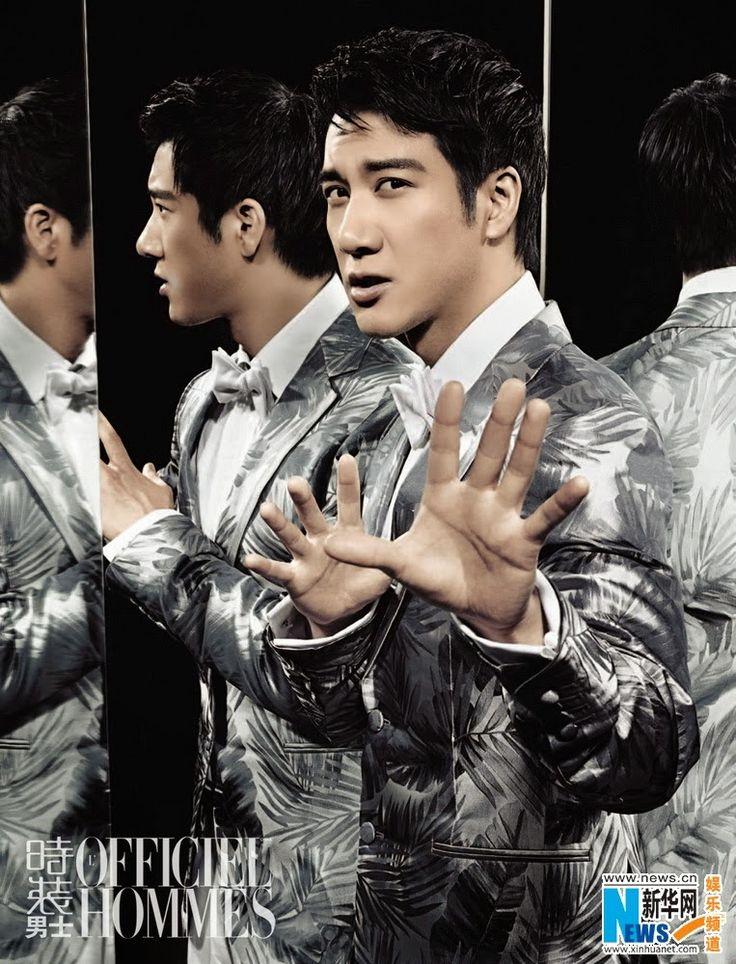 Wang Leehom covers L'Officiel magazine | China Entertainment News