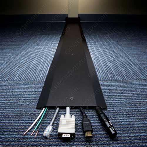 Wiremold legrand overfloor raceway ofr series 4 channel for Ada compliant flooring