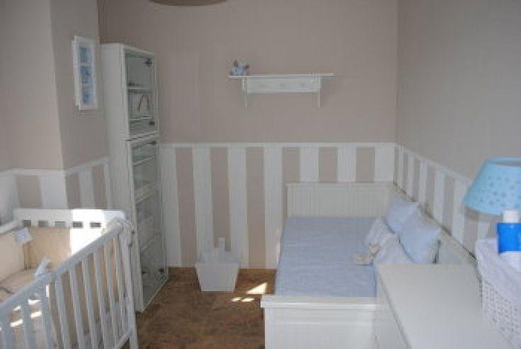 Habitacion bebe rayas grises buscar con google - Colores para habitacion de nino ...