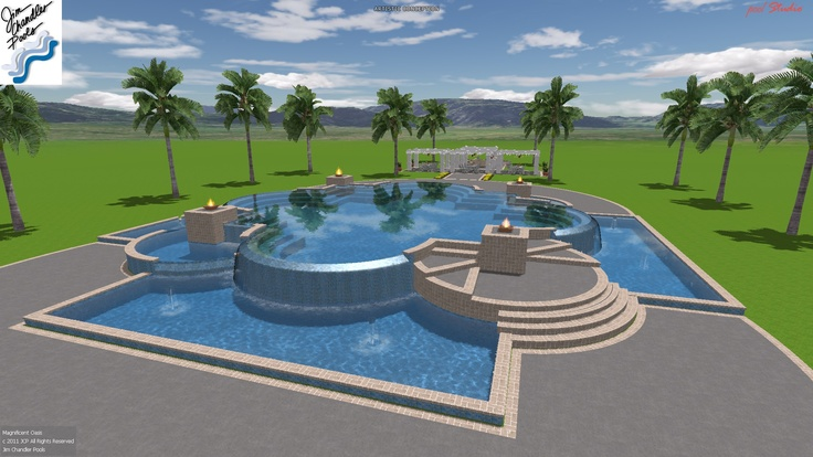 21 best dream 3 d pool designs images on pinterest pool for Pool design roseville ca