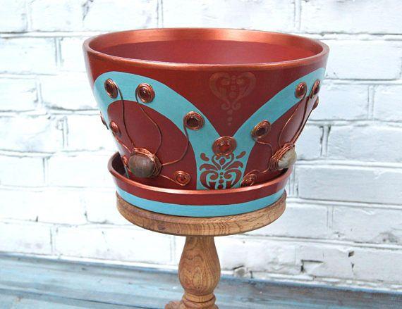 Top 25+ Best Ceramic Flower Pots Ideas On Pinterest