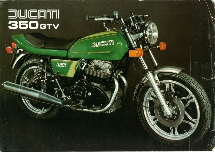 The 1977 Ducati 350GTV sports an air-cooled, four-stroke, 349cc, parallel twin cylinder engine, mated to a five-speed manual transmis...