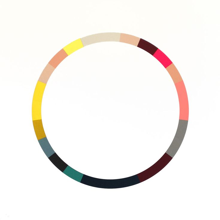 Sophie Smallhorn - Colour Wheel 5 on www.eyestorm.com
