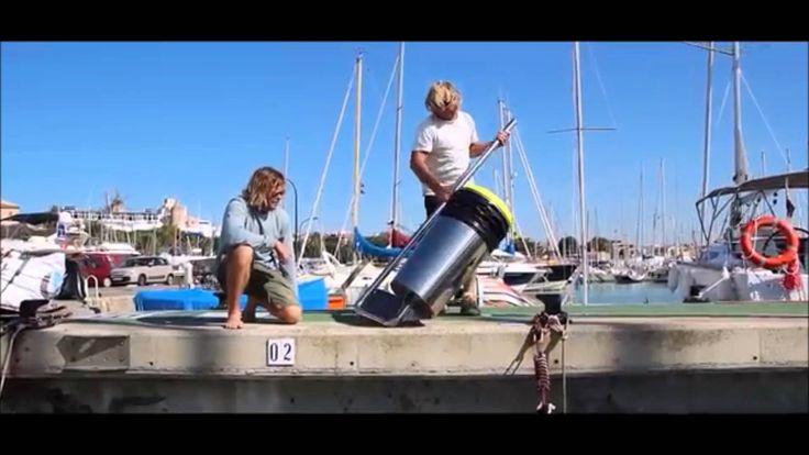 Ocean Garbage Trash Can - Sea Bin