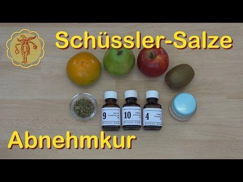 Schüssler-Salze Abnehmkur - YouTube
