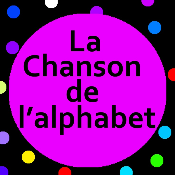 Teach and sing the French alphabet to preschoolers and kindergarten students.