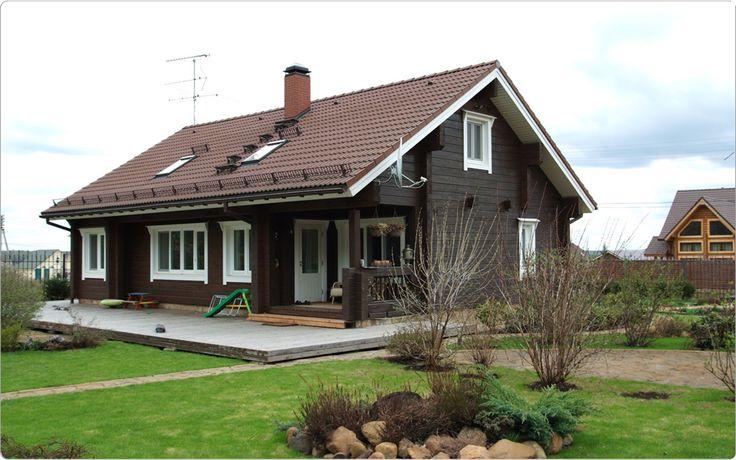 Финские дома. Скандинавский стиль
