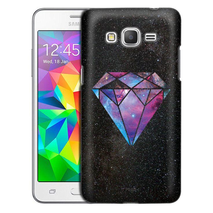 Samsung Grand Prime Nebula Galaxy Diamond Case