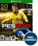 PES 2016: Pro Evolution Soccer - PRE-Owned - Xbox One, Multi