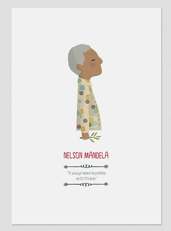 Nelson Mandela. by Tutticonfetti