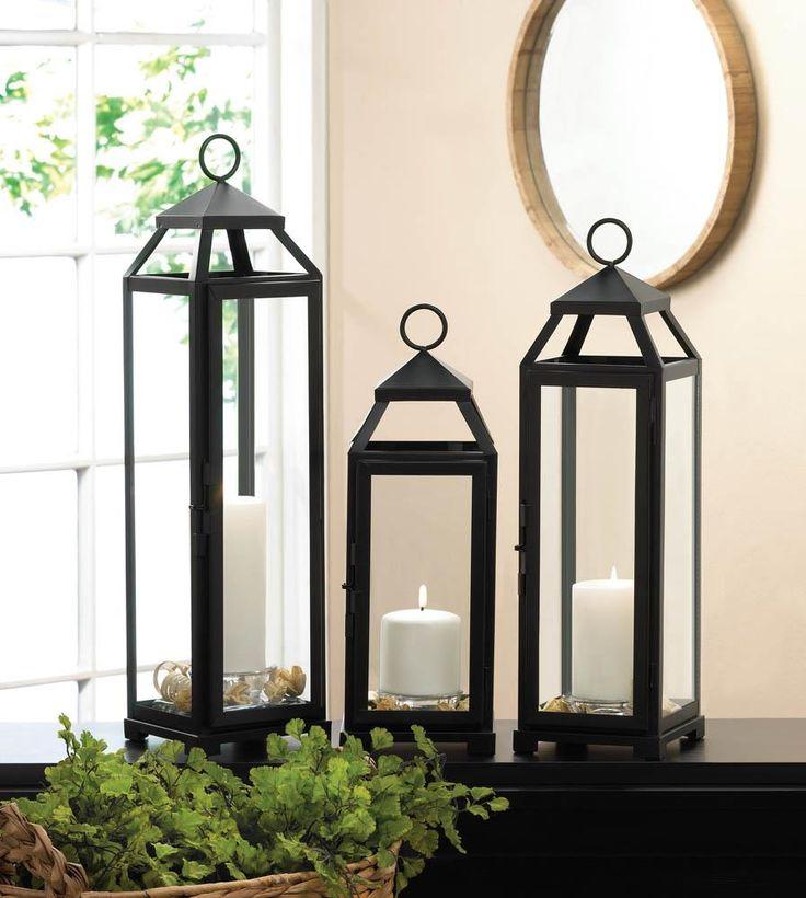 lean sleek candle lanterns wholesale at koehler home decor - Koehler Home Decor