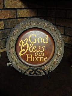 God Bless our Home sign with Cricut and design studio #homedecor