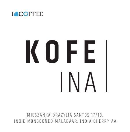 Kawa ziarnista I Love Coffee Kofeina 250g