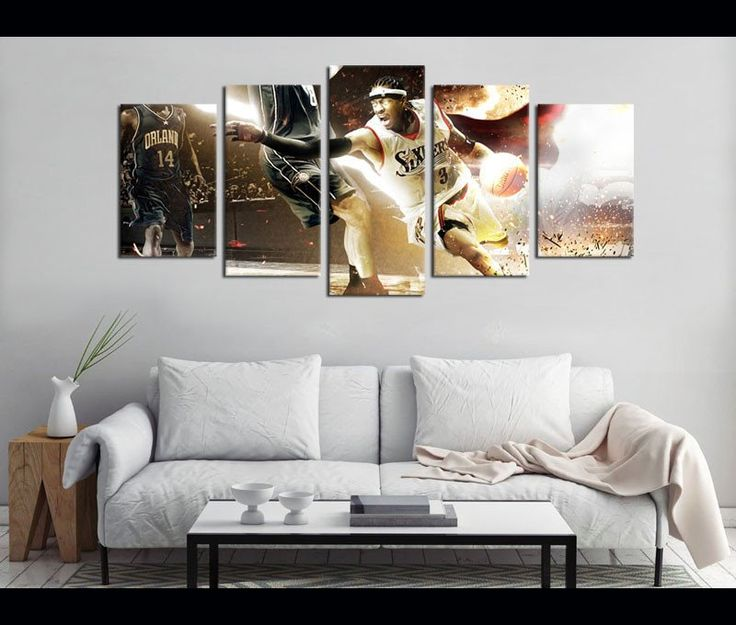 Canvas Painting Fired Up Lounge Wall Art