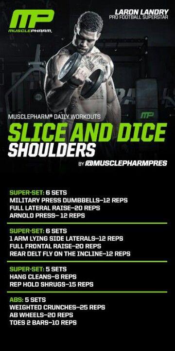 Killer shoulders | Training Programs | Pinterest | Workout ...