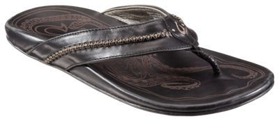 OluKai Mea Ola Thong Sandals for Men - Black/Black - 11 M: OluKai Mea Ola… #camping #hiking #outdoors #shooting #fishing #boating #hunting