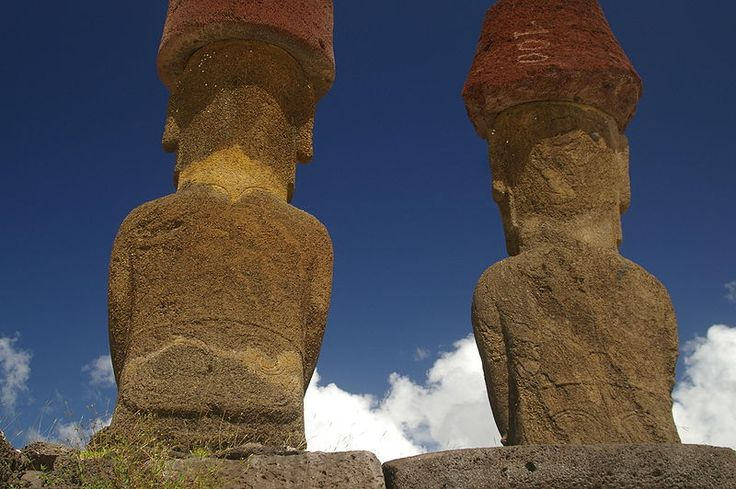 Moai Rückseite