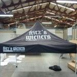 Auckland Display Signs provides the full range of high quality portable branded Gazebos. These are of different sizes with canopies and side walls also they are strong, light weight and easy to install. Gazebos include the durable aluminum frame, full color digitally printed canopy, ropes, ground pegs and carry bag.