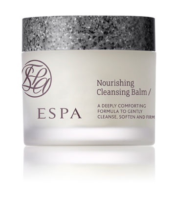 This unusual cleanser from ESPA is a surprise favourite of mine. Goes on like a waxy balm, transforms into a comforting milk with water, and removes makeup and impurities when removed with the supplied muslin cloth or cotton wool pads. Smells amazing and really comforting for my sensitive skin.