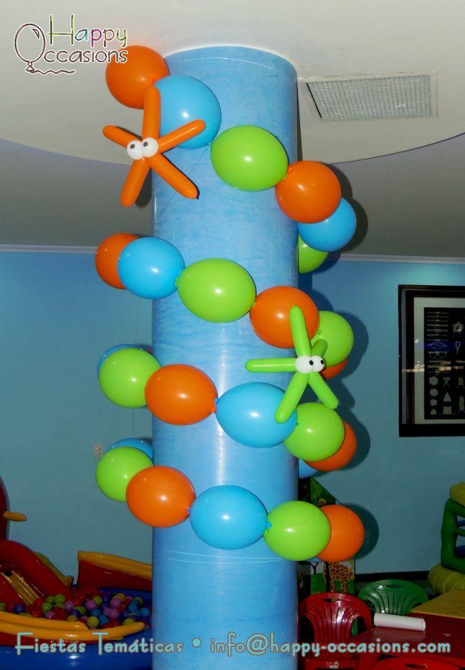 17 mejores im genes sobre fiesta en el oceano en pinterest - Ver decoraciones de salones ...