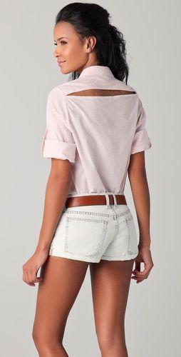 Thayer Slit Back Button Down Shirt: Dreams Closet, Diy Inspiration, Style Inspiration, Collars Buttons, Fabulous Fashion, Collars Shorts, Fashion Clothing Shoes Jewelry, Buttons Down Shirts, Collars Shirts