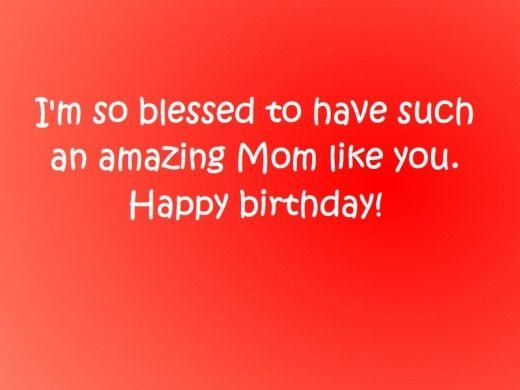 #birthday wishes to mom!