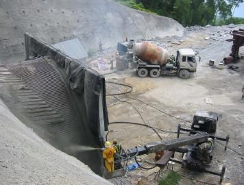 concept of shotcrete technology Learn how concrete pools are built using a process called shotcrete   understanding the shotcrete process  and water tightness, the other major  benefit of shotcrete technology is that you have no design limitations you can  have any size,.