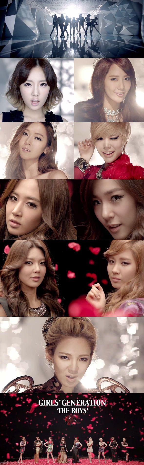 The Boys MV screencaps members http://mithunonthe.net/2011/10/20/girls-generation-the-boys-review-new-album-snsd-korean/ #snsd #girlsgeneration #kpop