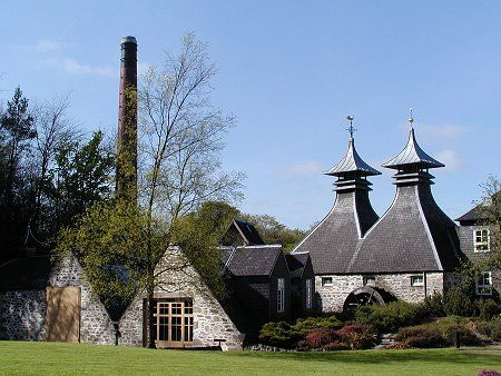 Strathisla Distillery ~ the prettiest distillery in Scotland, and the oldest legal distillery, in operation since 1786.
