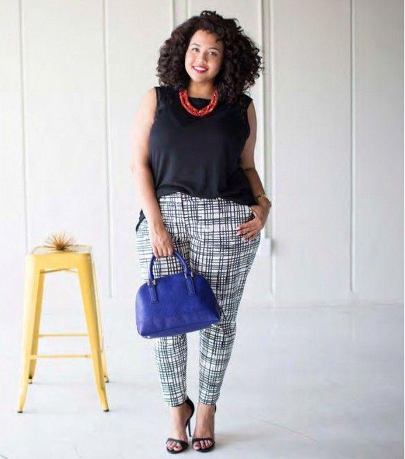 Para as mulheres plus size, infelizmente não temos muitas referências na internet! É difícil encontrar looks elegantes e que valorizem a silhueta, mas...