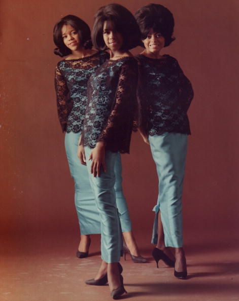 """The Supremes, Florence Ballard, Mary Wilson and Diana Ross in 1964. Mary Wilson's personal collection of fashion and memorabilia will be presented at The African American Museum in Philadelphia beginning in January 2013 in an exhibition called """"Come See About Me: The Mary Wilson Supremes Collection."""" Photo: Gilles Petard/Redferns."""