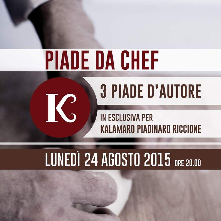 Piade da Chef - 3 piade d'autore al Kalamaro Piadinaro Riccione #piadedachef #kalamaropiadinaro