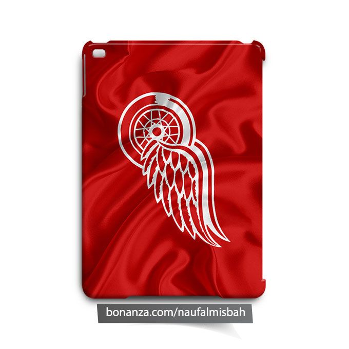 Detroit Red Wings Jackets Ruffles Silk iPad Air Mini 2 3 4 Case Cover