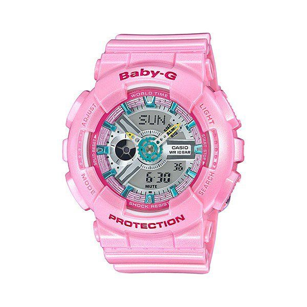 BA110CA-4A Casio Watch - World Times - 2 Year Guarantee - 5 Alarms - 100 Metres W/R - Free Delivery