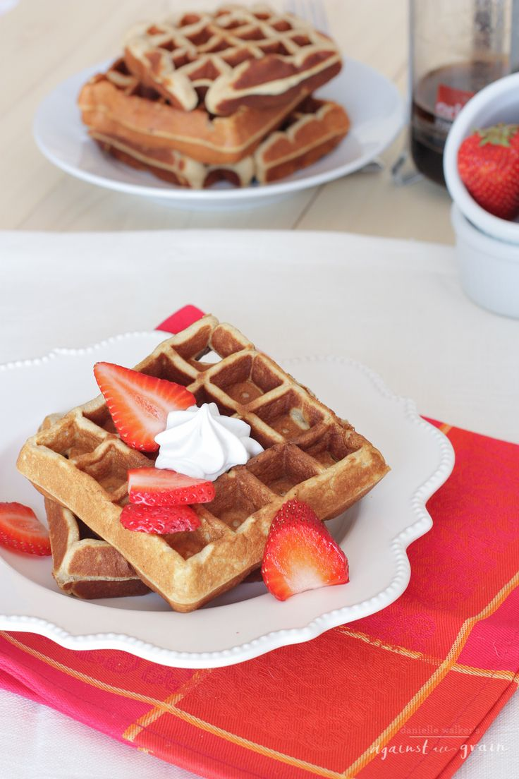 Another good one. - A recipe for paleo, gluten-free, and grain-free cashew waffles
