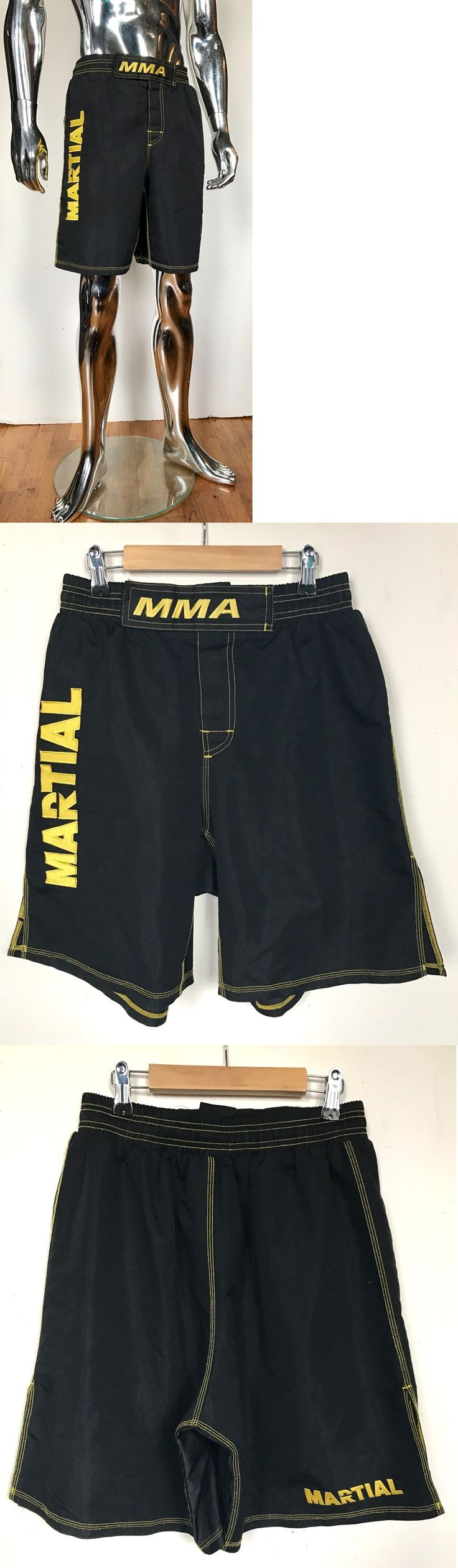 Other Combat Sport Clothing 73988: Mma Grappling Shorts Muay Thai Cage Fight Kick Boxing S Black Jock Muscle Men BUY IT NOW ONLY: $49.5