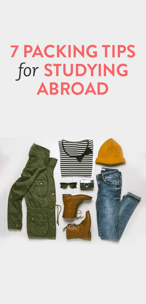 7 packing tips for studying abroad