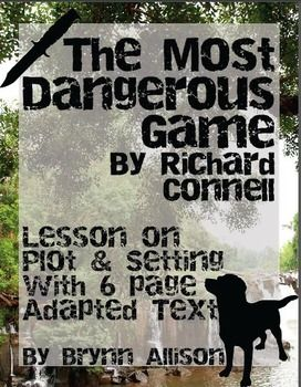 "the blending of literary devices in the short story the most dangerous game by richard connell The blending of literary devices  the most dangerous game by richard connell is  - richard connells ""the most dangerous game"" is a short story which."