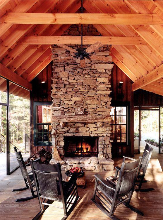 Platt Architecture Pa Cabin With Porch